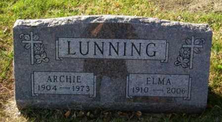 LUNNING, ELMA - Lincoln County, South Dakota   ELMA LUNNING - South Dakota Gravestone Photos