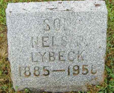 LYBECK, NELS I - Lincoln County, South Dakota | NELS I LYBECK - South Dakota Gravestone Photos