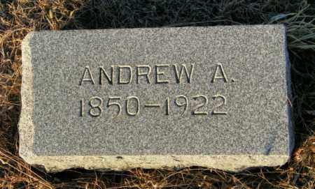 MARKEN, ANDREW A - Lincoln County, South Dakota | ANDREW A MARKEN - South Dakota Gravestone Photos