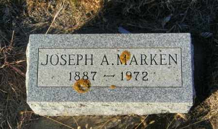 MARKEN, JOSEPH A - Lincoln County, South Dakota | JOSEPH A MARKEN - South Dakota Gravestone Photos