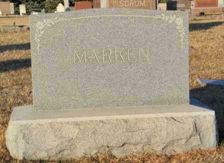 MARKEN PLOT, ANDREW - Lincoln County, South Dakota   ANDREW MARKEN PLOT - South Dakota Gravestone Photos