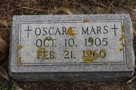 MARS, OSCAR E - Lincoln County, South Dakota   OSCAR E MARS - South Dakota Gravestone Photos
