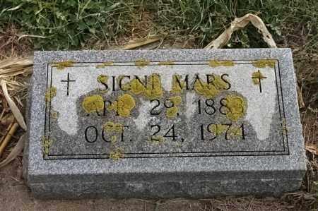 MARS, SIGNE - Lincoln County, South Dakota | SIGNE MARS - South Dakota Gravestone Photos