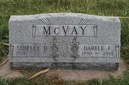 MCVAY, DARYLE E - Lincoln County, South Dakota | DARYLE E MCVAY - South Dakota Gravestone Photos