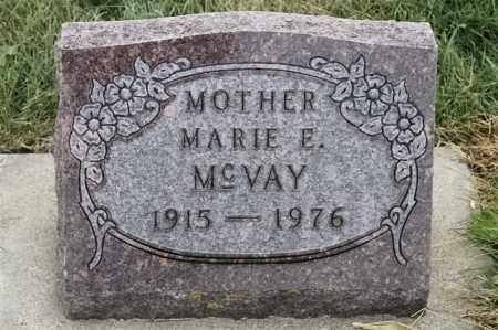 MCVAY, MARIE E - Lincoln County, South Dakota | MARIE E MCVAY - South Dakota Gravestone Photos
