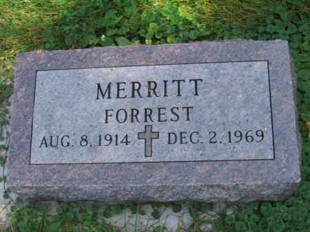 MERRITT, FORREST - Lincoln County, South Dakota | FORREST MERRITT - South Dakota Gravestone Photos