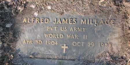MILLAGE, ALFRED JAMES (WW II) - Lincoln County, South Dakota | ALFRED JAMES (WW II) MILLAGE - South Dakota Gravestone Photos