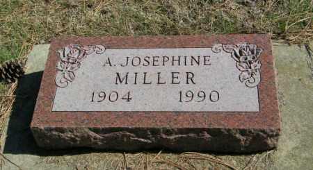 MILLER, A JOSEPHINE - Lincoln County, South Dakota | A JOSEPHINE MILLER - South Dakota Gravestone Photos