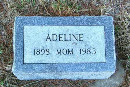 MILLER, ADELINE - Lincoln County, South Dakota | ADELINE MILLER - South Dakota Gravestone Photos