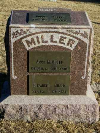 MILLER, ANNIE M - Lincoln County, South Dakota | ANNIE M MILLER - South Dakota Gravestone Photos