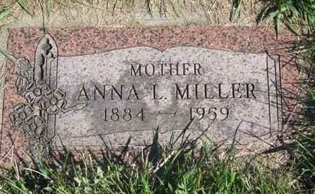 MILLER, ANNA L. - Lincoln County, South Dakota   ANNA L. MILLER - South Dakota Gravestone Photos