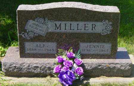 MILLER, ALF - Lincoln County, South Dakota | ALF MILLER - South Dakota Gravestone Photos