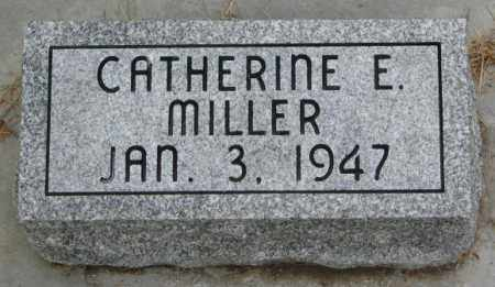 MILLER, CATHERINE E. - Lincoln County, South Dakota | CATHERINE E. MILLER - South Dakota Gravestone Photos