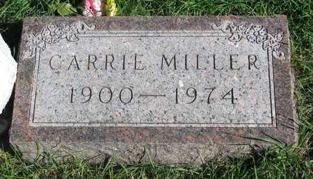 MILLER, CARRIE - Lincoln County, South Dakota | CARRIE MILLER - South Dakota Gravestone Photos