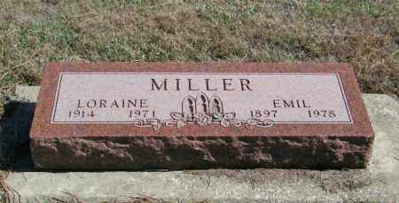 MILLER, LORAINE - Lincoln County, South Dakota | LORAINE MILLER - South Dakota Gravestone Photos