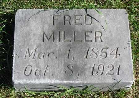 MILLER, FRED - Lincoln County, South Dakota | FRED MILLER - South Dakota Gravestone Photos