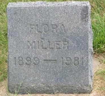 MILLER, FLORA - Lincoln County, South Dakota | FLORA MILLER - South Dakota Gravestone Photos
