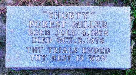 "MILLER, FOREST ""SHORTY"" - Lincoln County, South Dakota 