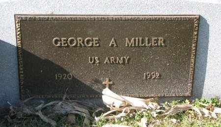 MILLER, GEORGE A. (MILITARY) - Lincoln County, South Dakota | GEORGE A. (MILITARY) MILLER - South Dakota Gravestone Photos