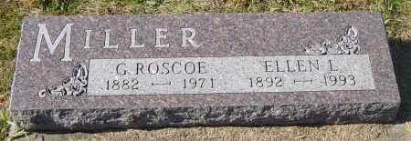 MILLER, G ROSCOE - Lincoln County, South Dakota | G ROSCOE MILLER - South Dakota Gravestone Photos