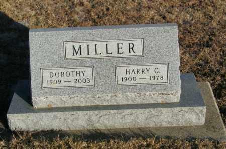 MILLER, HARRY G - Lincoln County, South Dakota | HARRY G MILLER - South Dakota Gravestone Photos