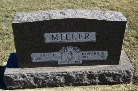 MILLER, HOWARD F - Lincoln County, South Dakota | HOWARD F MILLER - South Dakota Gravestone Photos
