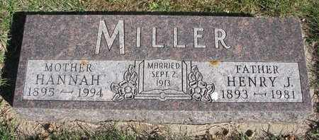 MILLER, HENRY J. - Lincoln County, South Dakota | HENRY J. MILLER - South Dakota Gravestone Photos