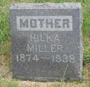 MILLER, HILKA - Lincoln County, South Dakota | HILKA MILLER - South Dakota Gravestone Photos