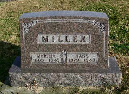 MILLER, MARTHA - Lincoln County, South Dakota | MARTHA MILLER - South Dakota Gravestone Photos