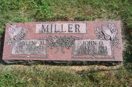 MILLER, JOHN O - Lincoln County, South Dakota | JOHN O MILLER - South Dakota Gravestone Photos