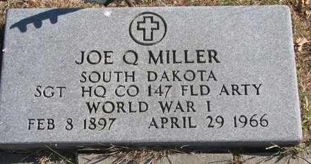 MILLER, JOE Q. (MILITARY) - Lincoln County, South Dakota   JOE Q. (MILITARY) MILLER - South Dakota Gravestone Photos
