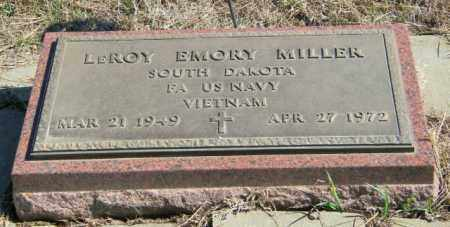 MILLER, LEROY EMORY - Lincoln County, South Dakota | LEROY EMORY MILLER - South Dakota Gravestone Photos