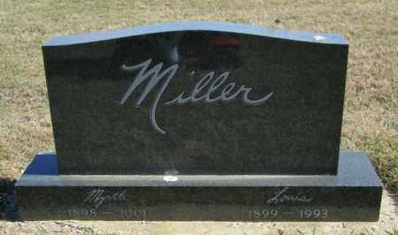 MILLER, LOUIS - Lincoln County, South Dakota | LOUIS MILLER - South Dakota Gravestone Photos