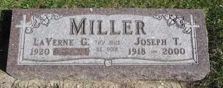 MILLER, JOSEPH T. - Lincoln County, South Dakota | JOSEPH T. MILLER - South Dakota Gravestone Photos