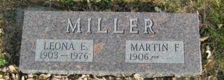 MILLER, LEONA E. - Lincoln County, South Dakota | LEONA E. MILLER - South Dakota Gravestone Photos