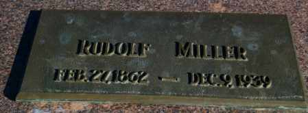 MILLER, RUDOLF - Lincoln County, South Dakota | RUDOLF MILLER - South Dakota Gravestone Photos