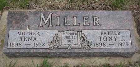 MILLER, TONY J. - Lincoln County, South Dakota | TONY J. MILLER - South Dakota Gravestone Photos