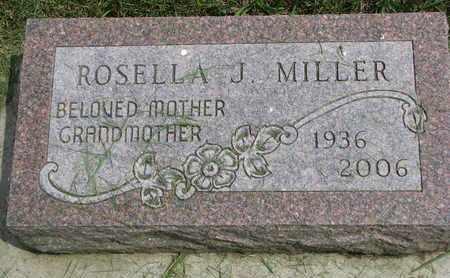 MILLER, ROSELLA J. - Lincoln County, South Dakota | ROSELLA J. MILLER - South Dakota Gravestone Photos