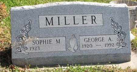 MILLER, GEORGE A. - Lincoln County, South Dakota | GEORGE A. MILLER - South Dakota Gravestone Photos