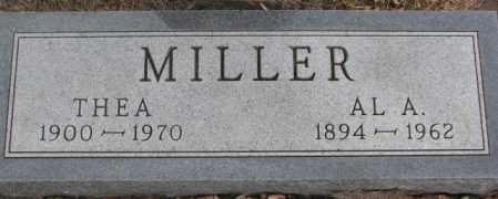 MILLER, THEA - Lincoln County, South Dakota | THEA MILLER - South Dakota Gravestone Photos