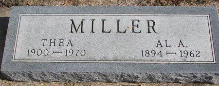 MILLER, AL A. - Lincoln County, South Dakota | AL A. MILLER - South Dakota Gravestone Photos