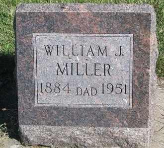 MILLER, WILLIAM J. - Lincoln County, South Dakota | WILLIAM J. MILLER - South Dakota Gravestone Photos
