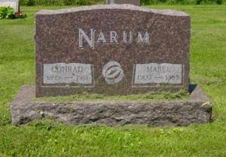 NARUM, CONRAD - Lincoln County, South Dakota   CONRAD NARUM - South Dakota Gravestone Photos
