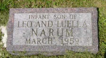 NARUM, INFANT SON - Lincoln County, South Dakota | INFANT SON NARUM - South Dakota Gravestone Photos