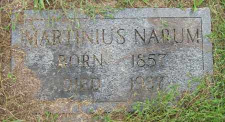 NARUM, MARTINIUS - Lincoln County, South Dakota | MARTINIUS NARUM - South Dakota Gravestone Photos