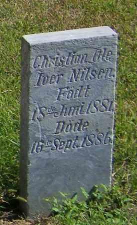 NILSEN, CHRISTIAN OLE IVER - Lincoln County, South Dakota | CHRISTIAN OLE IVER NILSEN - South Dakota Gravestone Photos