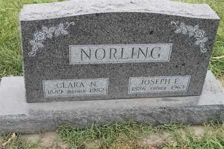 NORLING, JOSEPH E - Lincoln County, South Dakota | JOSEPH E NORLING - South Dakota Gravestone Photos