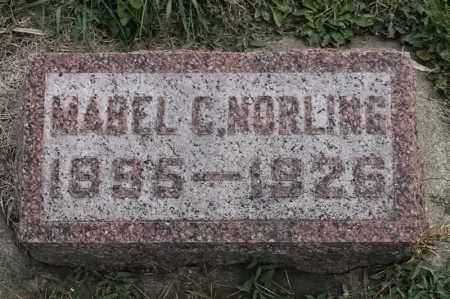 NORLING, MABEL C - Lincoln County, South Dakota | MABEL C NORLING - South Dakota Gravestone Photos