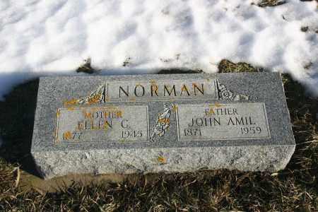 CONSTANTINA NORMAN, ELLEN - Lincoln County, South Dakota | ELLEN CONSTANTINA NORMAN - South Dakota Gravestone Photos
