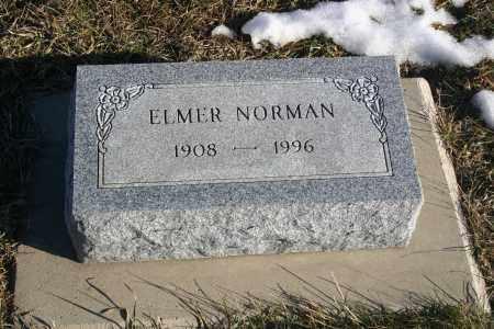 NORMAN, ELMER - Lincoln County, South Dakota | ELMER NORMAN - South Dakota Gravestone Photos